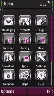 Темы для Nokia 5230