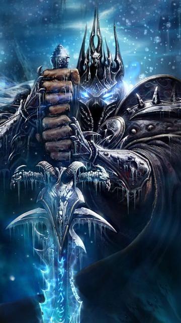 Обои в стиле популярной компьютерной игры World of Warcraft